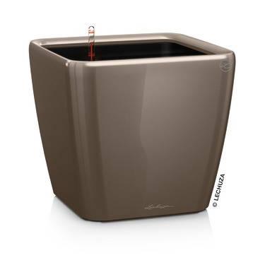 Умный вазон QUADRO LS 35 серо-коричневый блестящий, фото 2