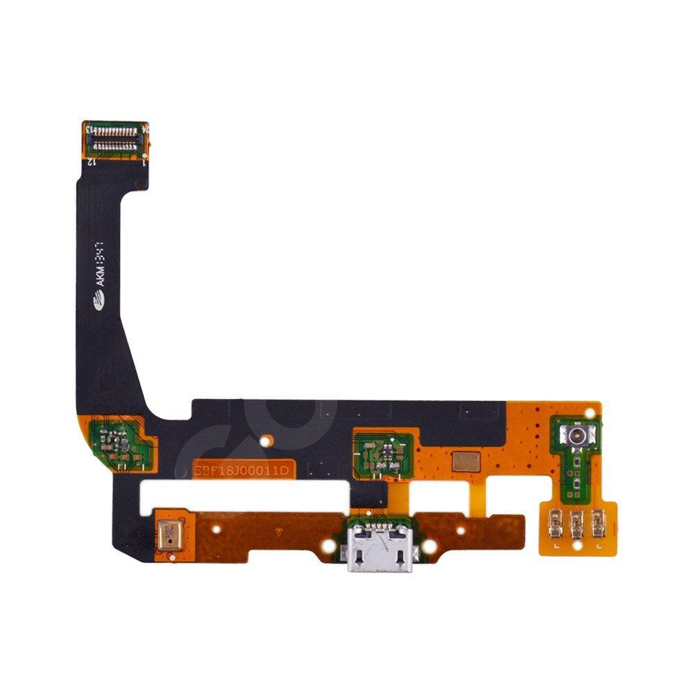 Шлейф для Alcatel One Touch 7047 POP C9 Bluish с разъемом зарядки