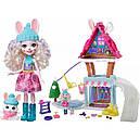 Набор Enchantimals Зимний коттедж Лыжное шале и кукла Кролик GJX50, фото 2