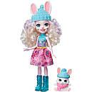 Набор Enchantimals Зимний коттедж Лыжное шале и кукла Кролик GJX50, фото 3
