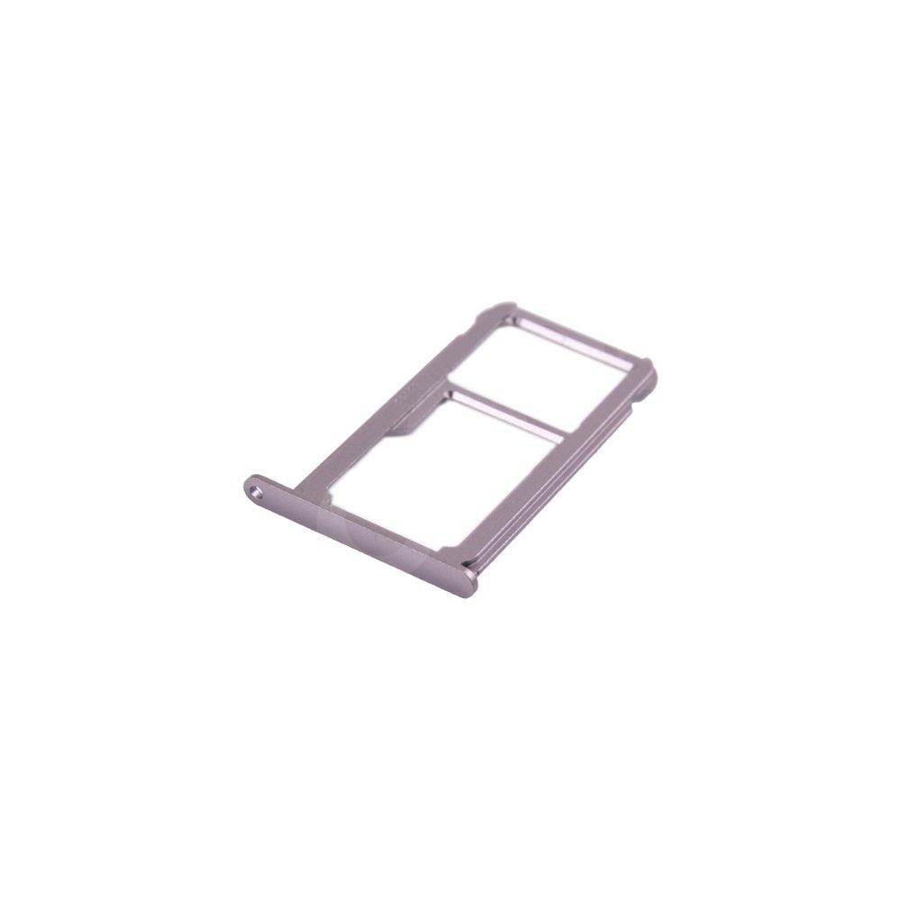 Держатель сим карты Huawei P9, цвет серебро