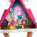 Набор Enchantimals Зимний коттедж Лыжное шале и кукла Кролик GJX50, фото 5