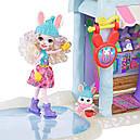 Набор Enchantimals Зимний коттедж Лыжное шале и кукла Кролик GJX50, фото 7