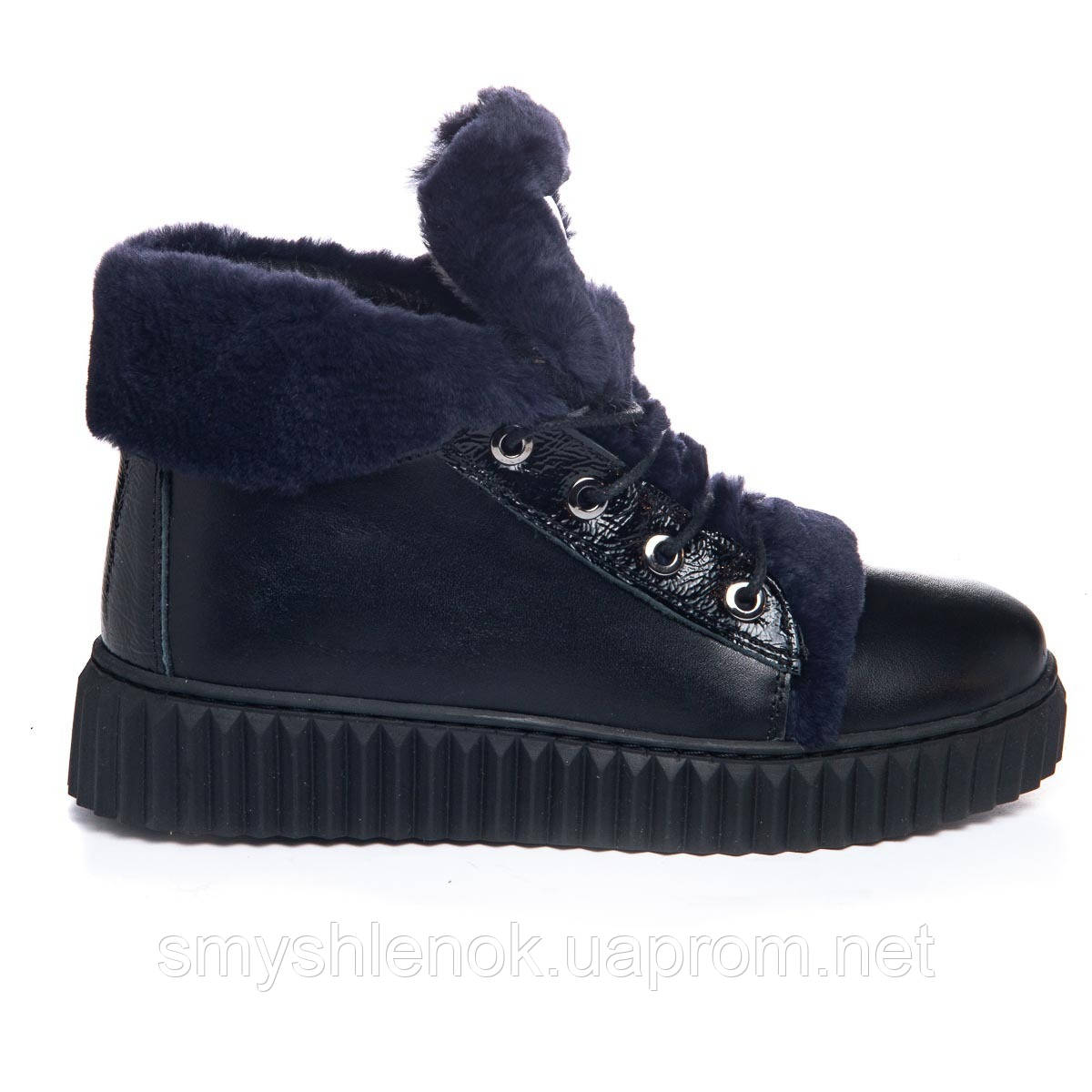 Ботинки Theo Leo RN1075 36 23 см Черно-синие