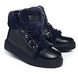 Ботинки Theo Leo RN1075 36 23 см Черно-синие, фото 2