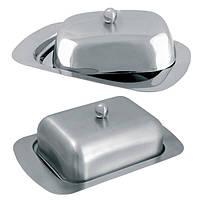 Масленка кухонная с крышкой сталь