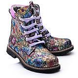 Ботинки Theo Leo RN819 27 17.5 см Черно-синие,сиренево-розовые, фото 2