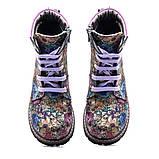 Ботинки Theo Leo RN819 27 17.5 см Черно-синие,сиренево-розовые, фото 5