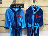 Халат махровый банный для мальчиков оптом, Disney, 98-134 см, № 05762