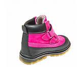 Зимние ботинки Panda 500(312) малиновые, фото 3