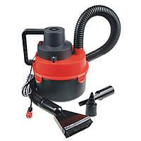 Автомобильный пылесос для сухой и влажной уборки Красный 1135
