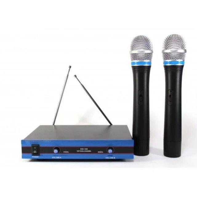 Радиосистема Sennheiser DM EW 100 с двумя микрофонами и базой