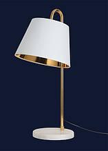 Настольная лампа с абажуром 9192089 BK Белый