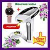 Фотоэпилятор Kemei KM-6812. Устройство для удаления волос Kemei KM6812. Лазерный эпилятор фотоэпилятор
