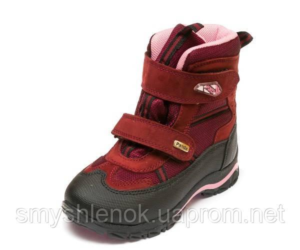 Термо ботинки Panda 329(5)бордо.(26-30)