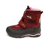 Термо ботинки Panda 329(5)бордо.(26-30), фото 5
