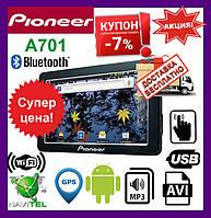 GPS-навигатор Pioneer A701. GPS-навигаторы автомобильные Навигаторы пионер GPS навигаторы для авто