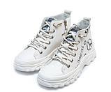 Ботинки д/с Fashion F626-1(31-36) бел, фото 4