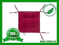 Подушка на стул лиловая 40х40 борт 5 см. Подушки на стулья. Подушки на табурет. Чехол на стул. Чехлы на стул.