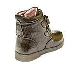 Ботинки зима Panda 200(3)бронза 2лип(21-25), фото 4