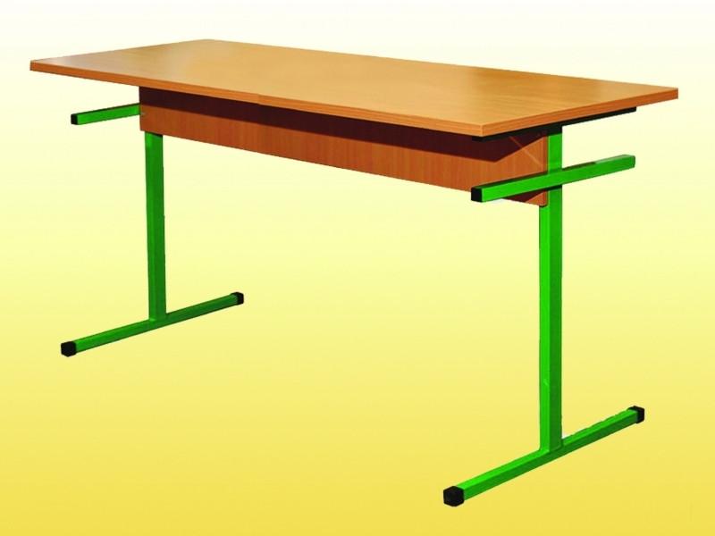 Стол для столовых, прямоугольный, на металлическом каркасе, 6-местный, ростовой группы № 6 — 1500х600х750 мм