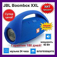 Портативная колонка JBL Boombox XXL 60 ват. Blue (Синяя). Самая большая Джибиэль бумбокс 60 ват. Блютуз., фото 1