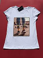 Женская летняя футболка XL