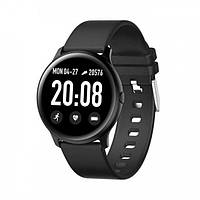 Розумні смарт годинник SmartWatch KW19. Фітнес браслет з вимірюванням тиску. пульсометр. Оригінал!