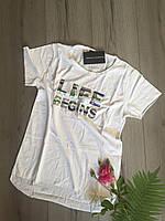 Женская футболка белая S