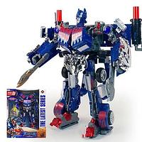 """Робот-трансформер """"Оптимус Прайм"""" Tycoon Optimus Prime (свет, звук) scn"""