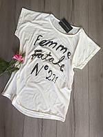 Женская легкая футболка M
