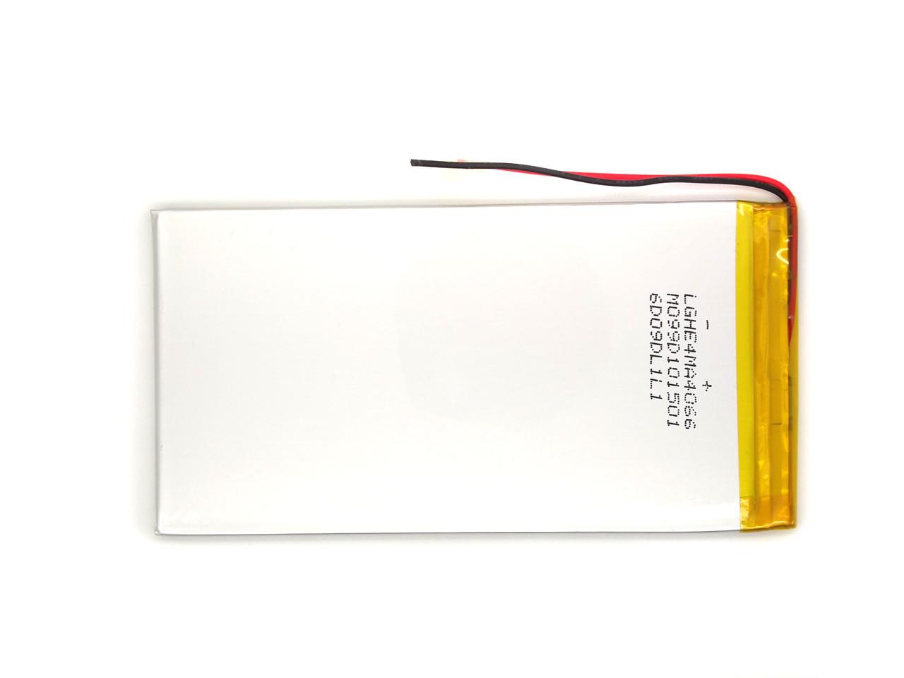 Аккумулятор 5000mAh 3.7v 3570125 Li-Po, для планшетов