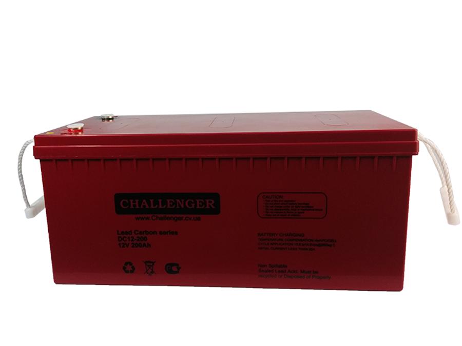 Аккумулятор свинцово-углеродный - 200 Ач 12В Challenger DC12-200С УЦЕНКА