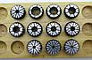 Набор зажимных Цанг ER32 диапазон 2-20мм а=0,008 11шт DIN6499B, фото 3