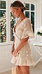 Літнє плаття на запах з короткими розкльошеними рукавами 78031521, фото 3