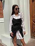 Платье - двойка с белым платьем - рубашкой и черным сарафаном 68031533, фото 2