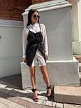 Платье - двойка с белым платьем - рубашкой и черным сарафаном 68031533, фото 4