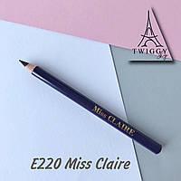 Карандаш для глаз водостойкий E220 Miss Claire
