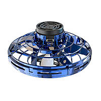 Летающий спиннер Flynova с LED подсветкой Синий DrS112433, КОД: 1614809