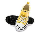 Кеды Fashion S5795(31-37) желтые, фото 5