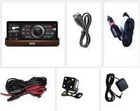 Видеорегистратор детектор JUNSUN | Гарантия 2 года | 3G/4G/Wifi | GPS/Bluetooth
