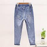 Жіночий костюм з футболкою і джинсами з малюнком 79101053, фото 4