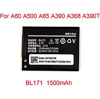 Аккумуляторная батарея к телефону Lenovo A390, A500, A60, A368, A65 1500 mAh BL 171