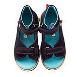 Босоножки Theo Leo RN885 33 22 см Синие, фото 3