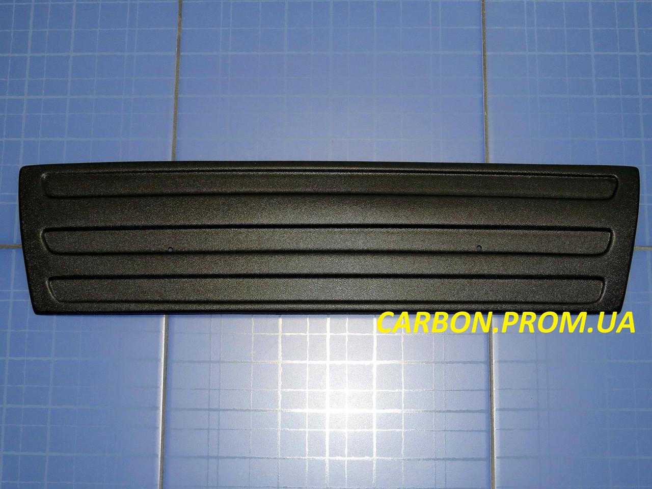 Зимняя заглушка решётки радиатора Фольксваген Кадди низ 2004-2010 матовая Fly. Утеплитель Volkswagen Caddy