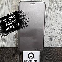 Чохол книжка для Xiaomi Redmi Note 5a Сірий, фото 1