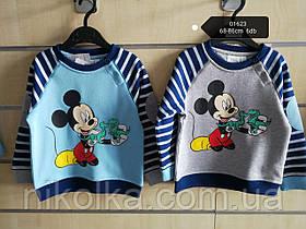 Кофта для мальчиков оптом, Disney, 68-86 см,  арт. 01623