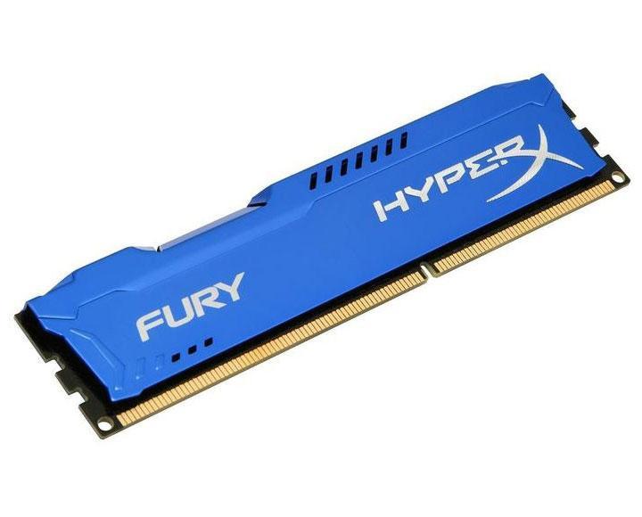 DDR3 1866 HyperX Fury 8GB (HX318C10F/8) PC3-14900 оперативная память 1866MHz Blue - ДДР3 8 Гб