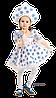 Детский карнавальный костюм Снежинки Код 1187