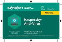 Kaspersky Anti-Virus Продление 1ПК 1год+3мес (карточка) KL1171OOABR17 (любой год)